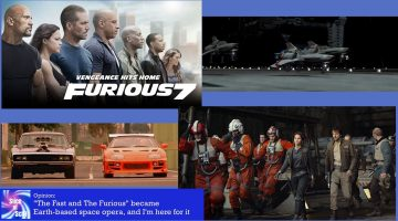 Fast & Furious is now Space Opera