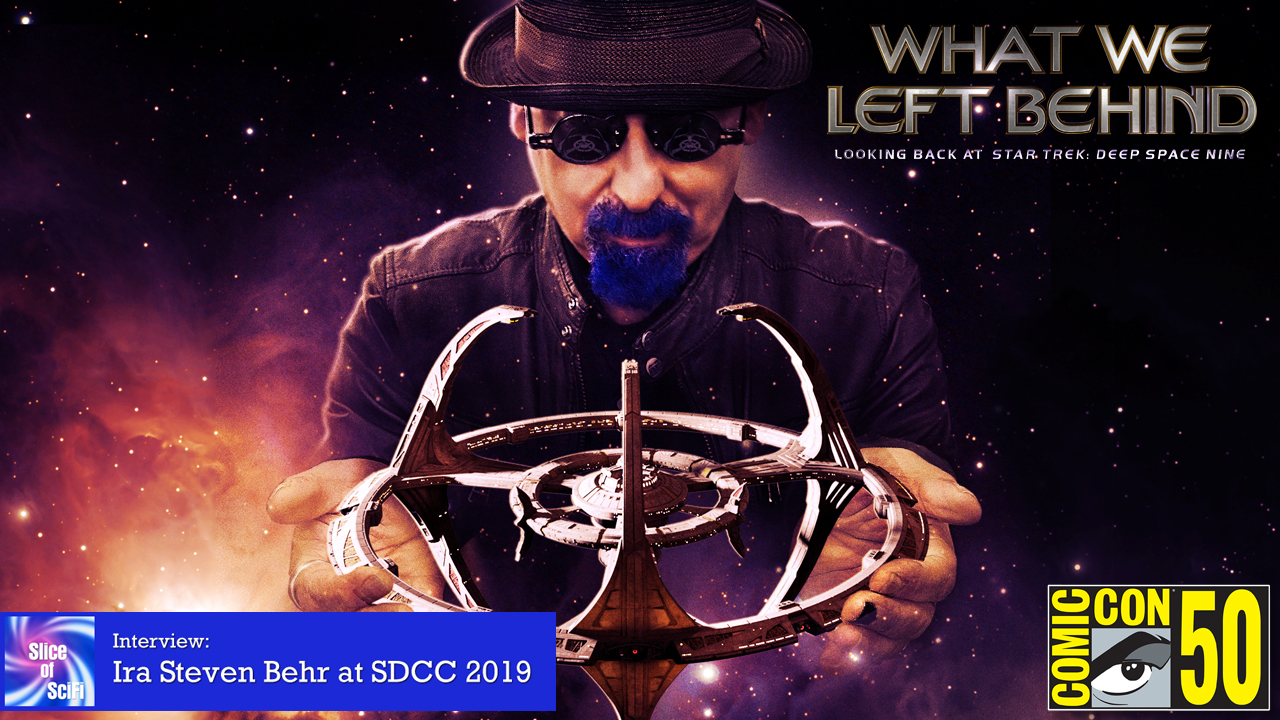 "Ira Steven Behr talks ""Deep Space Nine"" at SDCC Andrew Bundy sat down with Ira for a fascinating chat"