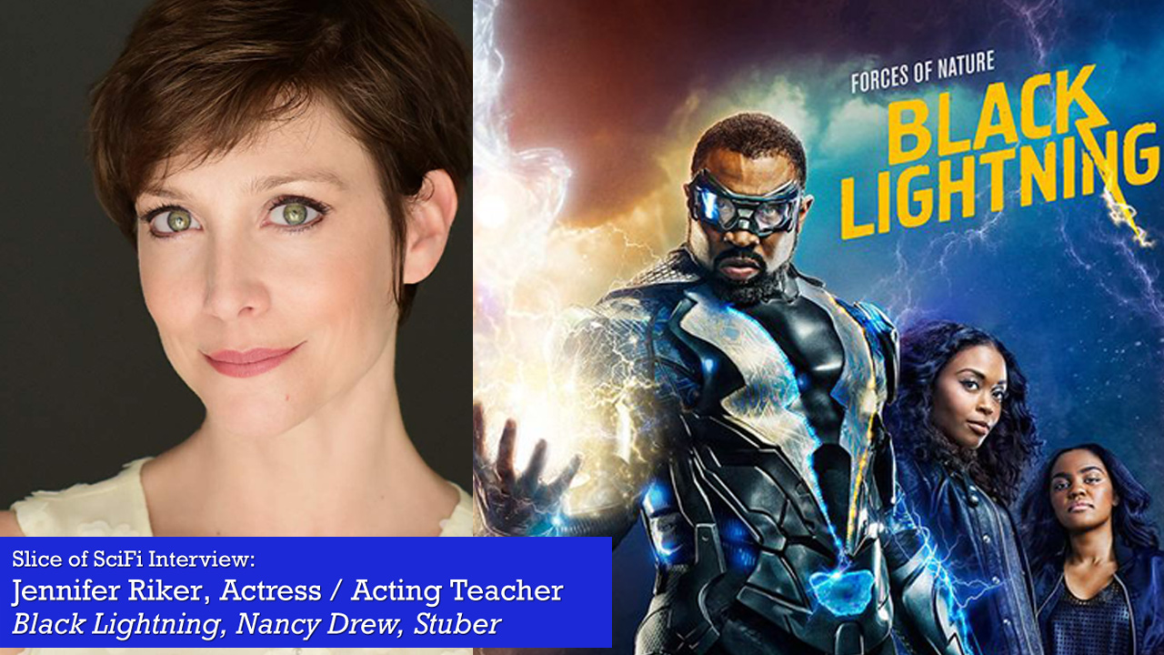 "Jennifer Riker on acting, teaching, and ""Black Lightning"" Here's one villain we want to see again in ""Black Lightning"" Season 3"