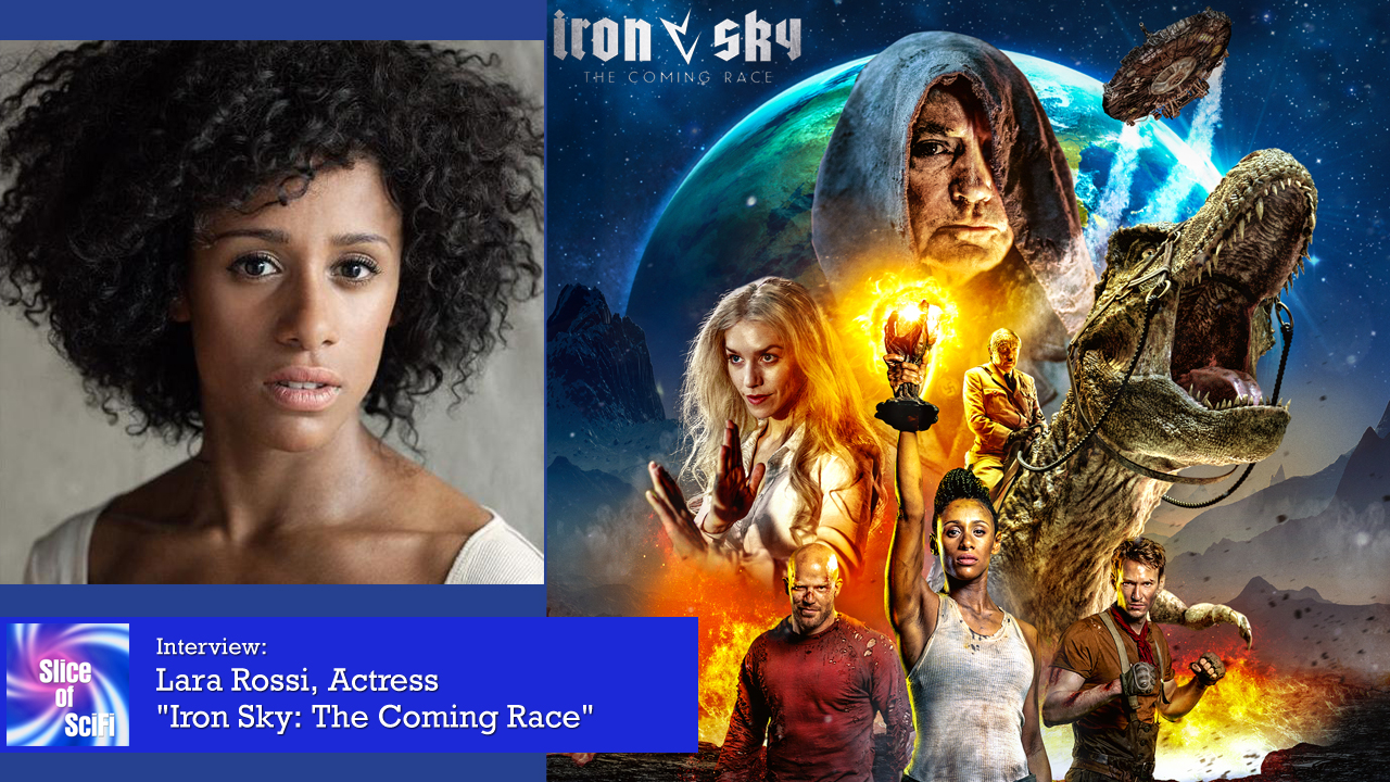 "Lara Rossi on flying spaceships and fun with a T-Rex The lead in ""Iron Sky: The Coming Race"" talks about getting the job done"