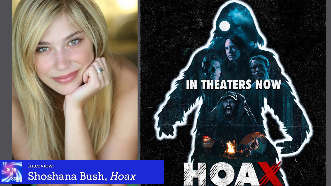"Indie Horror: ""Hoax"" actress Shoshana Bush Where humor and horror meet in a good way"