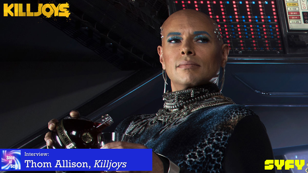 "Thom Allison: The Chameleon of ""Killjoys"" The versatile actor and singer has so many worlds left to explore"
