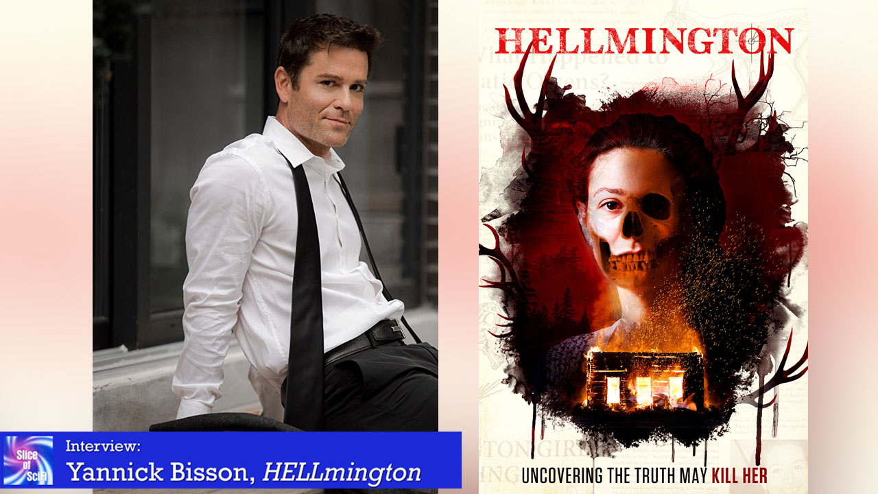 """HELLmington"": Yannick Bisson on Quirky Characters The perennial ""good guy"" wants to break from his stereotype"