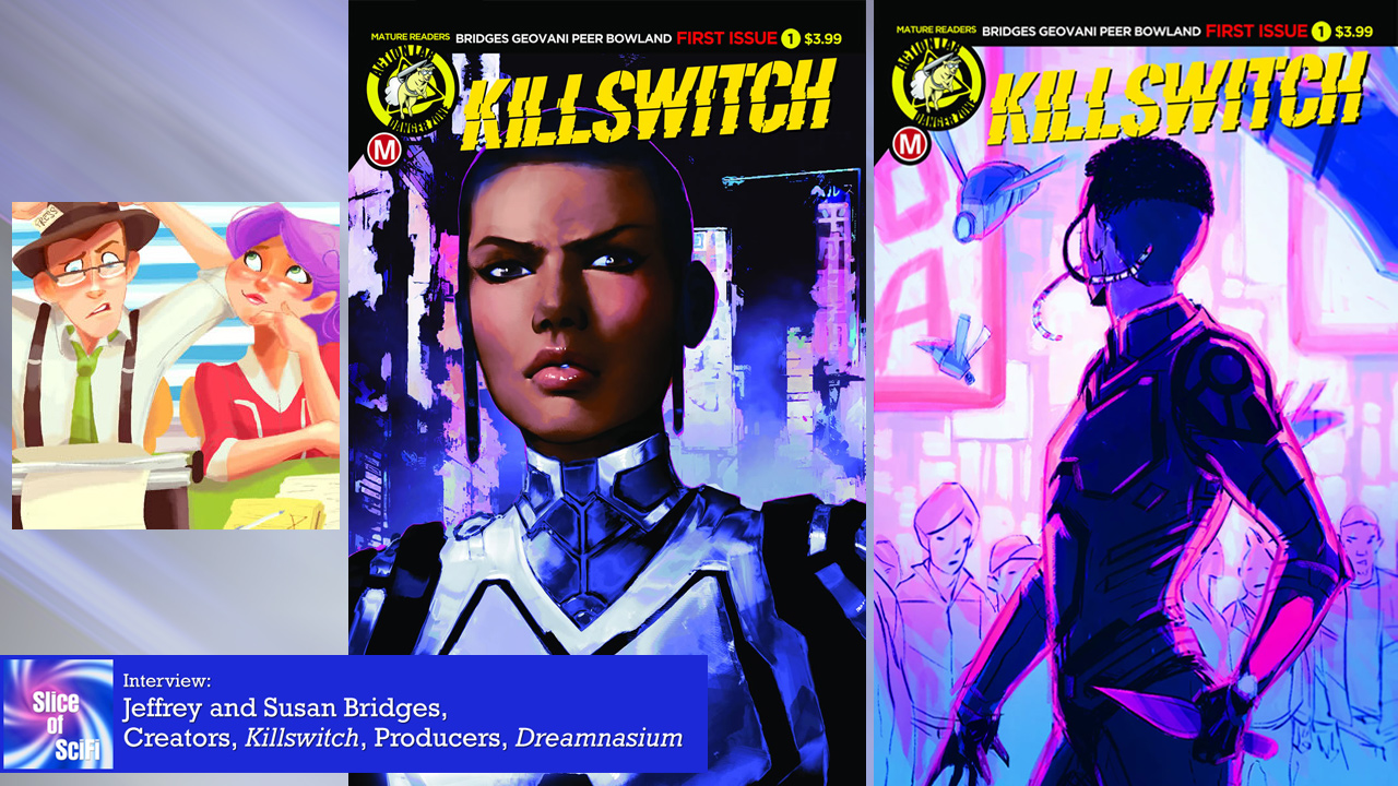 """Killswitch"": Indie Comics Creators Jeffrey and Susan Bridges"