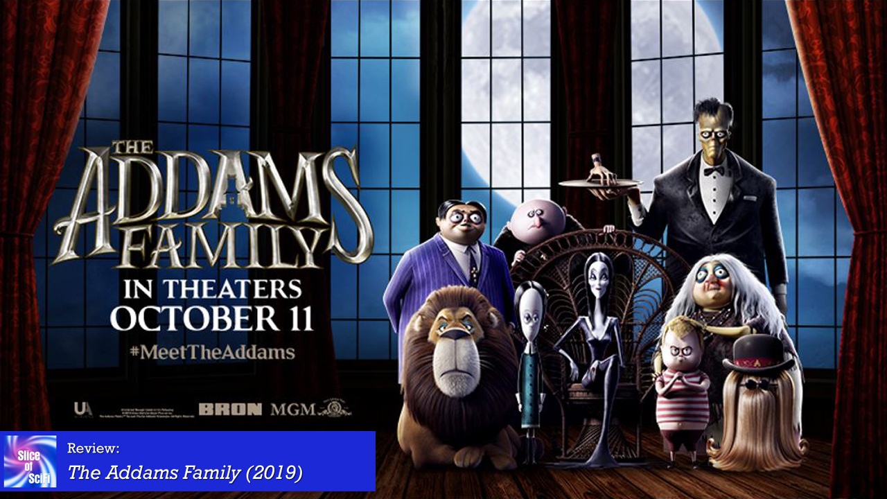 """The Addams Family"" is altogether ooky fun"