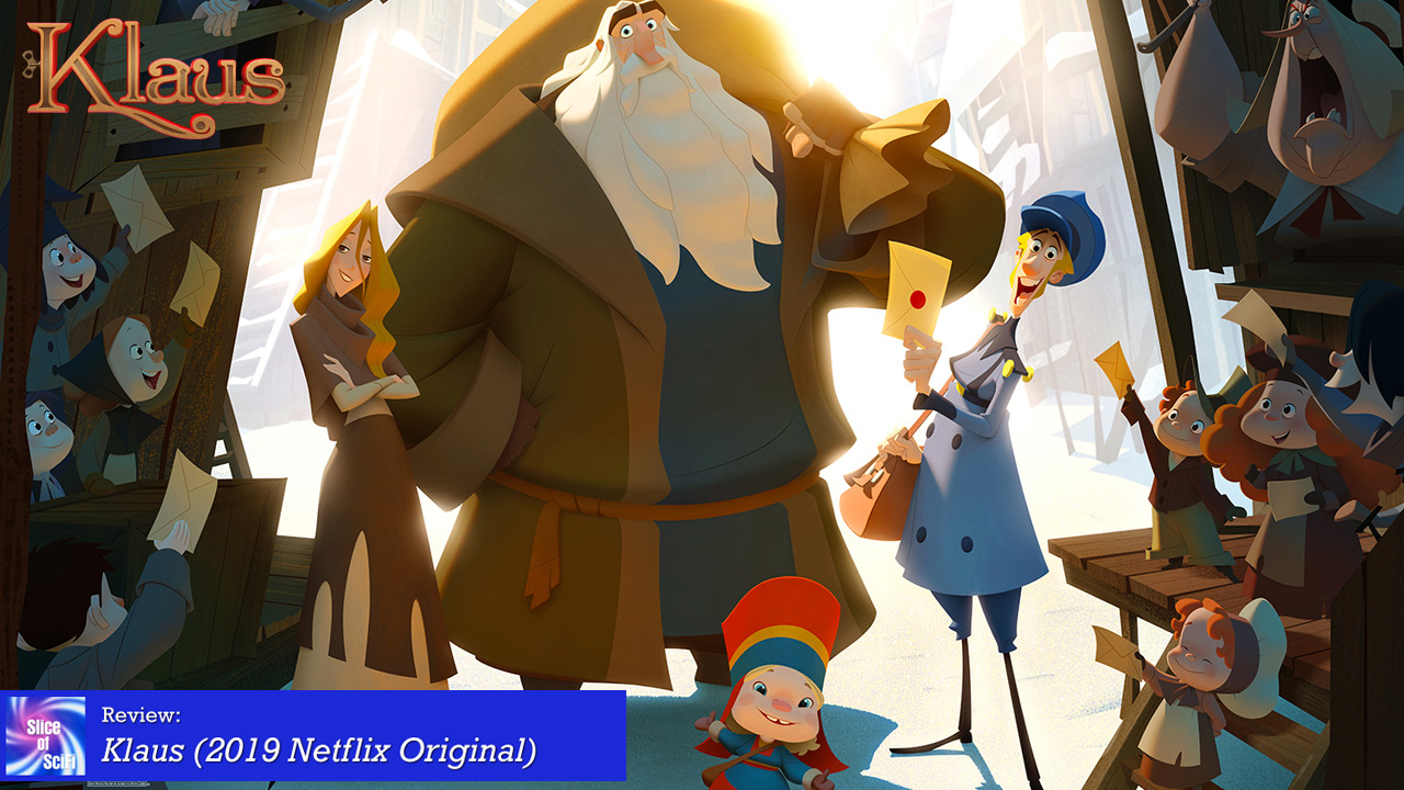 """In """"Klaus"""", Netflix presents a charming holiday tale"""