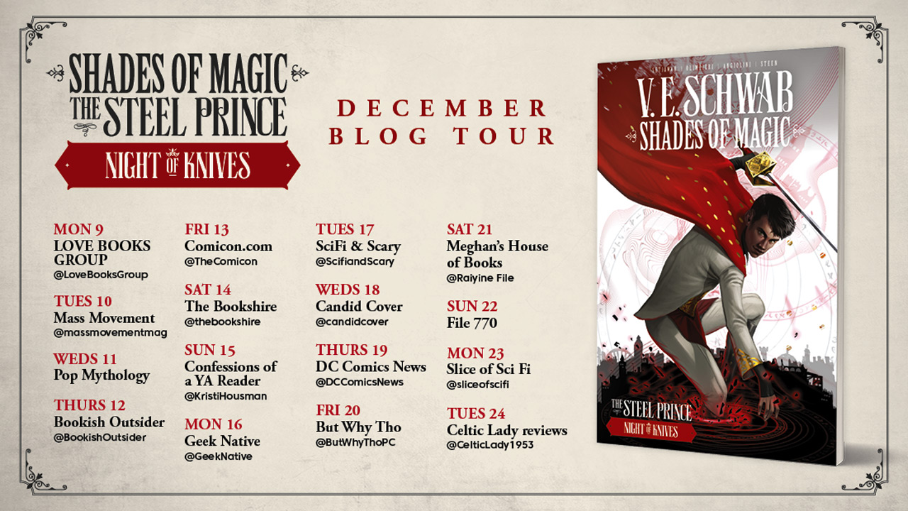 """Shades of Magic: Night of Knives"" draws us deeper into an already rich world"
