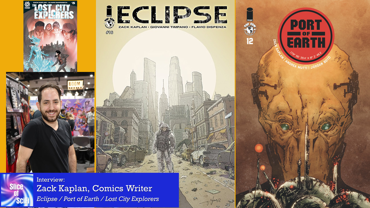 """Eclipse"": Zack Kaplan on story development in comics The journey of a storyteller across several creator-owned projects"