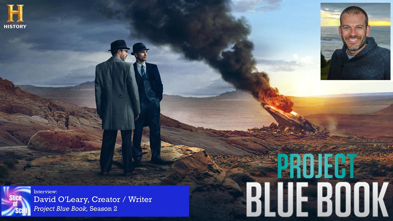 """Project Blue Book"": David O'Leary on Season 2 Where the investigations and personal dramas may take us beyond Season 2"