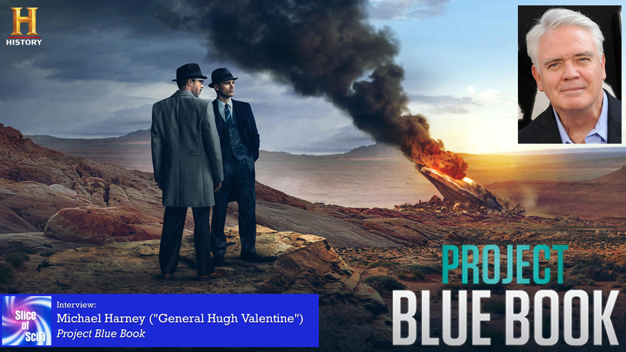 """Project Blue Book"": Michael Harney The conspiracies grow deeper and the investigations more intense"
