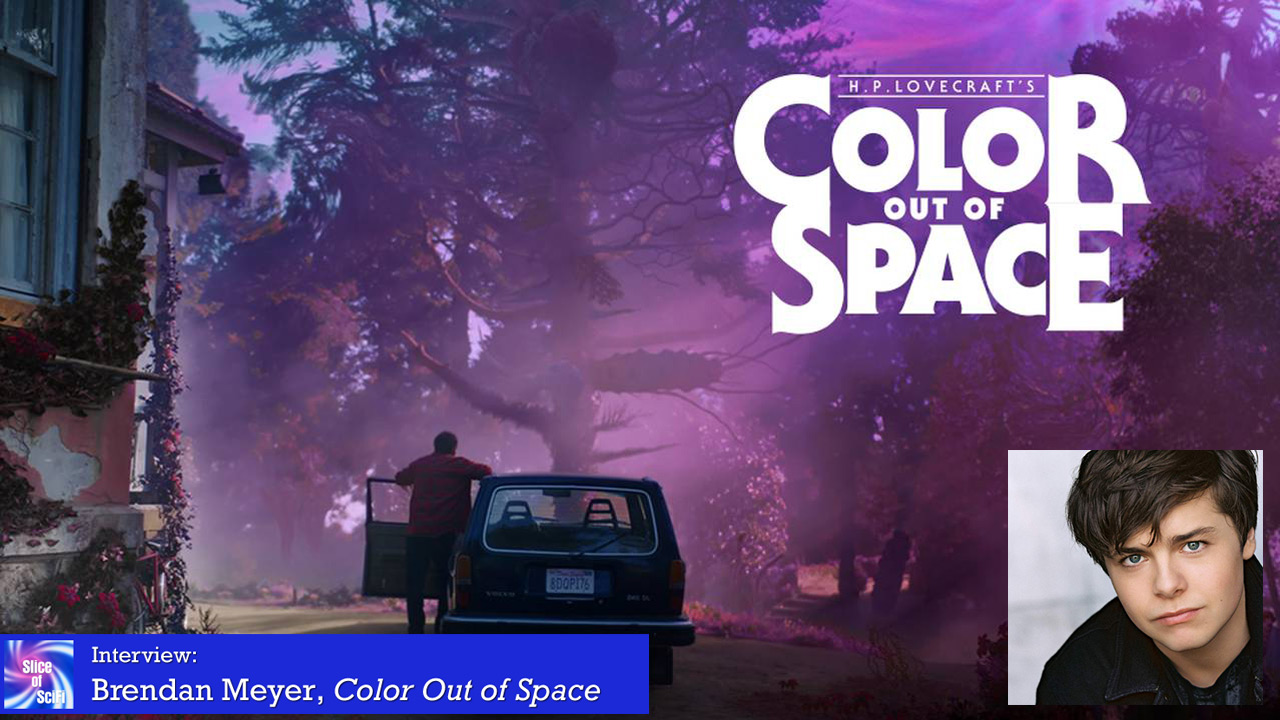 """Color Out of Space"": Brendan Meyer, Genre Fan On horror movie rules, and finding characters"