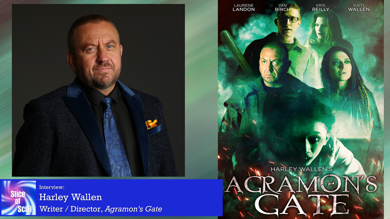 """Agramon's Gate"": Harley Wallen and his demon research The writer-director dives into how his story was told, and how he wanted so much more"