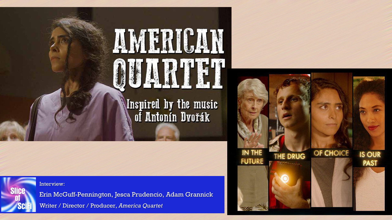 """American Quartet"": Exploring Scifi Storytelling Using music to drive a narrative"