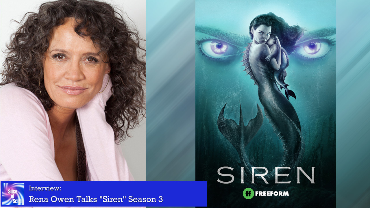 """Siren"": Rena Owen teases Season 3 More mermaids and more mayhem come to Bristol Cove"