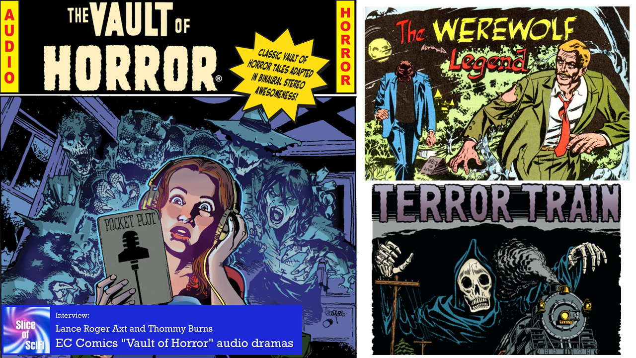 "EC Comics and ""The Vault of Horror"" Bringing classic horror tales to life as audio dramas for new audiences"