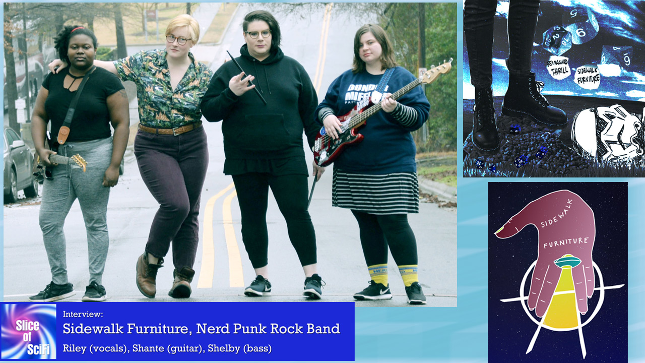 Sidewalk Furniture: Nerd Punk Rock There's a new nerd rock album of the angry variety to listen to