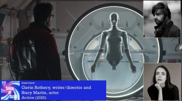 """Slice of SciFi 942: """"Archive"""", Gavin Rothery and Stacy Martin"""