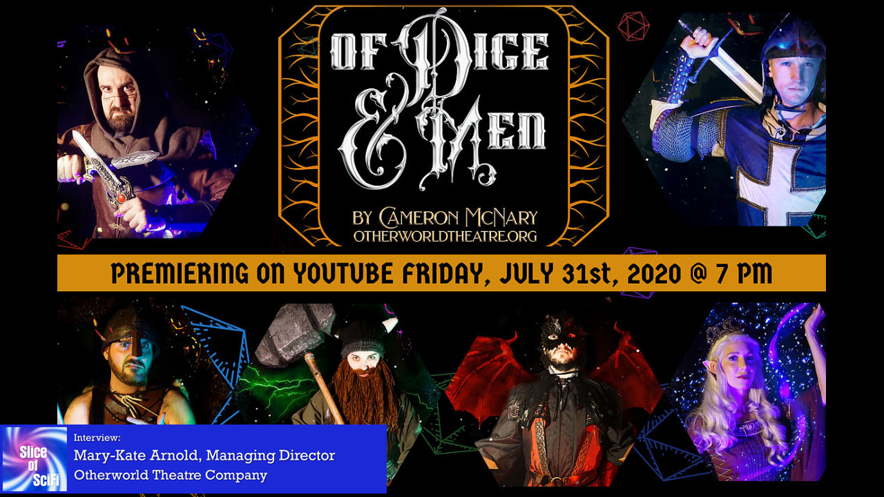 """Of Dice and Men"": Dungeons & Dragons on Stage Otherworld Theatre Company's summer production goes online during pandemic closures"