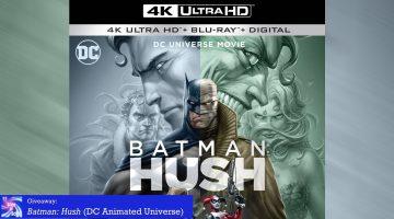 Giveaway: Batman: Hush