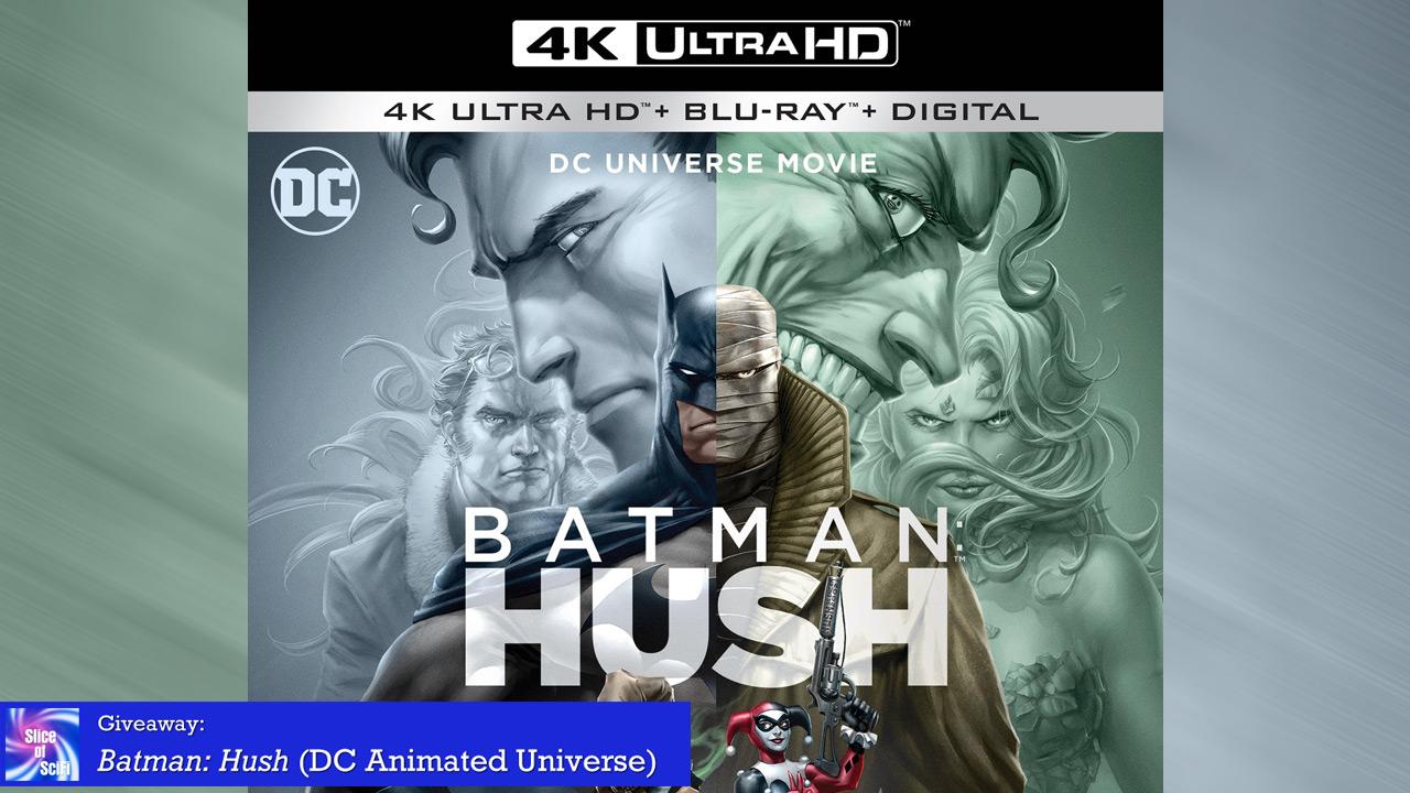 Giveaway: Batman: Hush (DC Animated Universe)