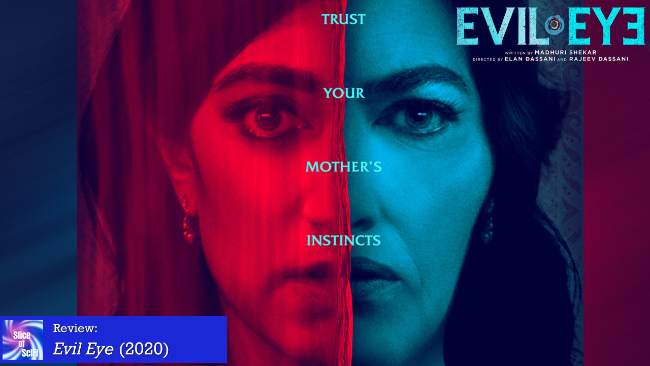 """Evil Eye"" is a beautiful suspense tale about haunted romance While not rising to typical horror expectations, the suspense is delightfully intense"