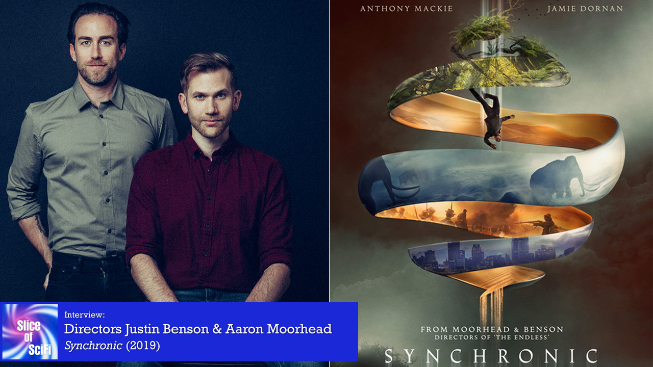 """Synchronic"" directors Justin Benson & Aaron Moorhead Time travel from the perspective of the past as an antagonist"