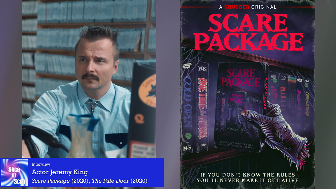 """""""Scare Package"""": Jeremy King on the story inside the story Poking fun at the 80s horror flavor in a comedic way"""