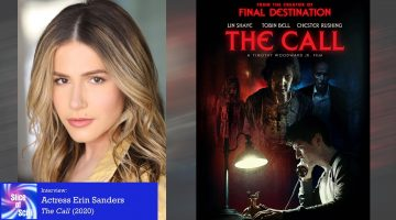 """Slice of SciFi Extra: Erin Sanders, """"The Call"""""""