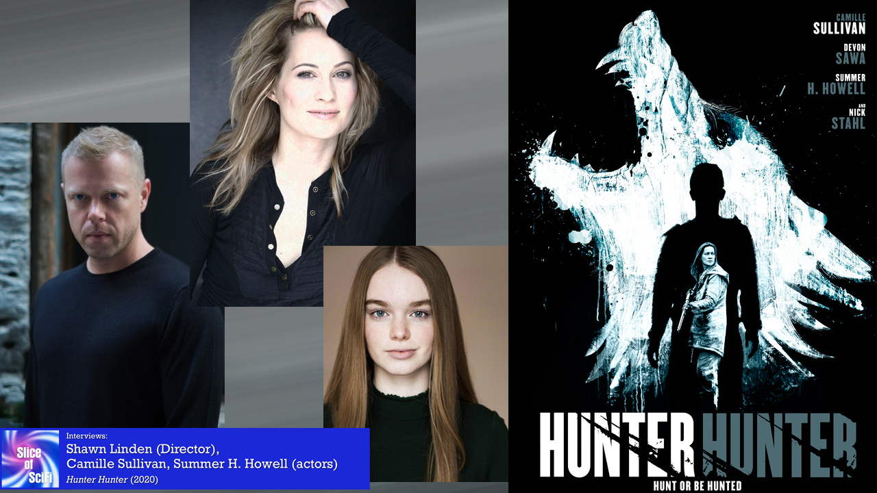 """""""Hunter Hunter"""": When the lines between hunter and prey are blurred Shawn Linden, Camille Sullivan and Summer Howell talk about suspense in the wilderness"""