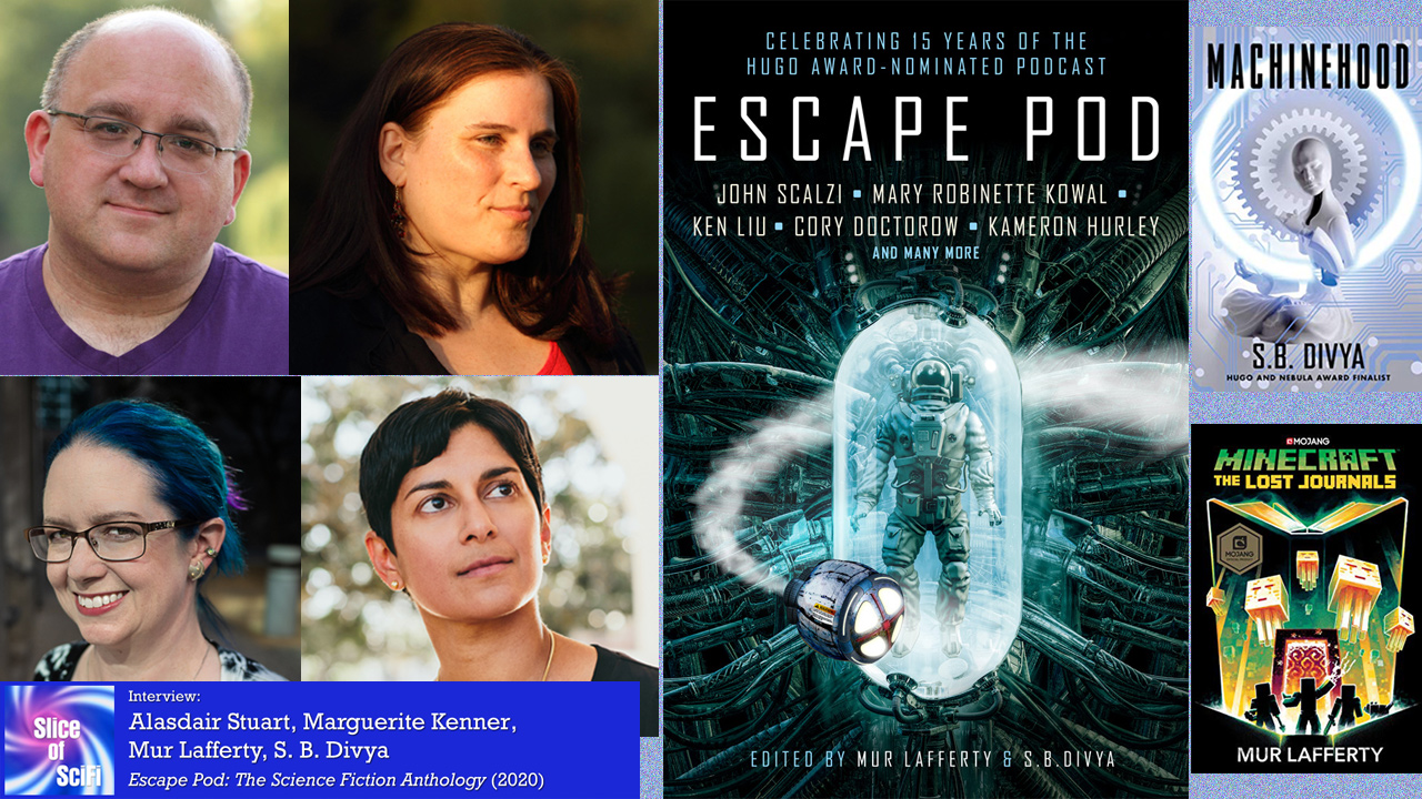 """Featuring """"Escape Pod: The Science Fiction Anthology"""" Collecting gems from the past 15 years of short audio science fiction"""