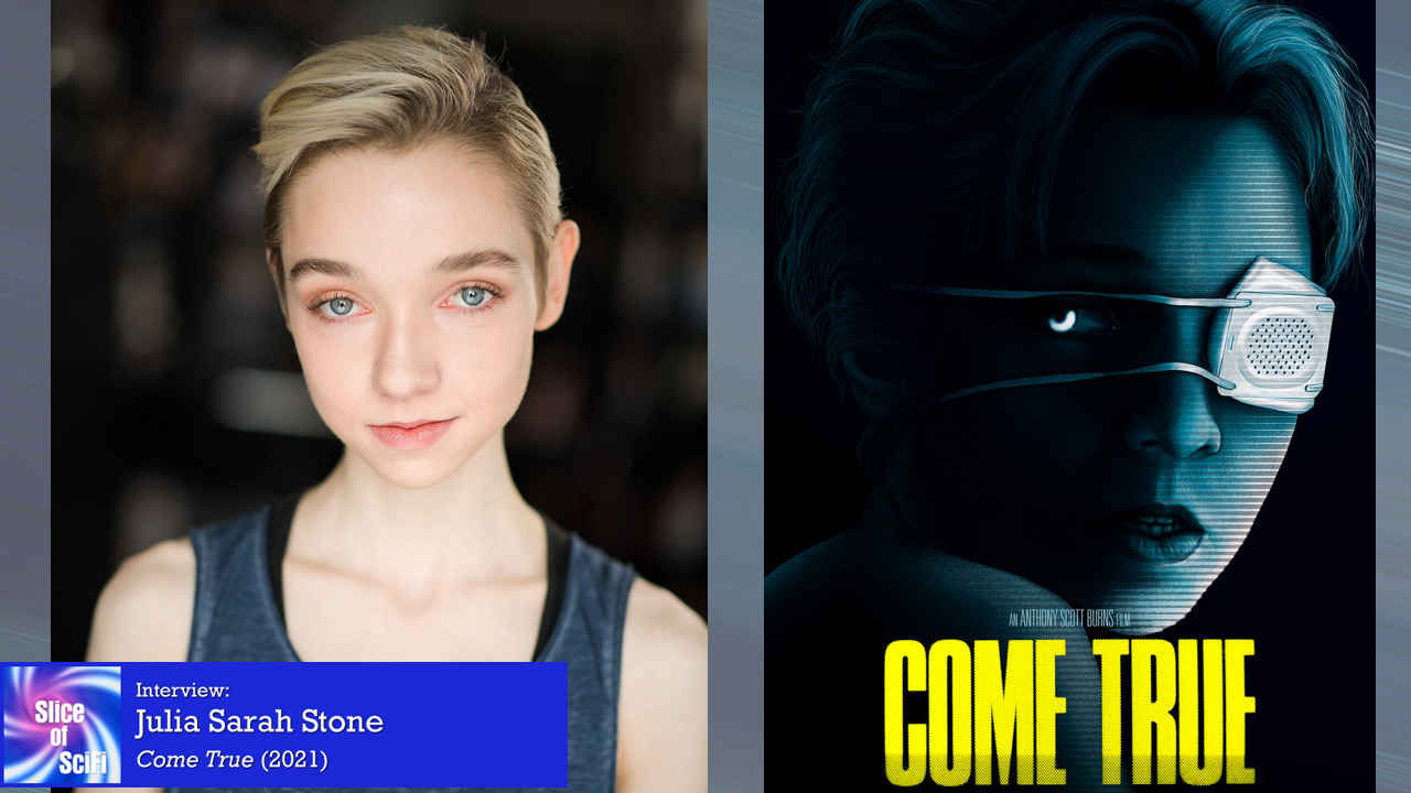 """""""Come True"""": Julia Sarah Stone on stronger women in suspense & horror Both looking for and writing the characters she wants to portray"""