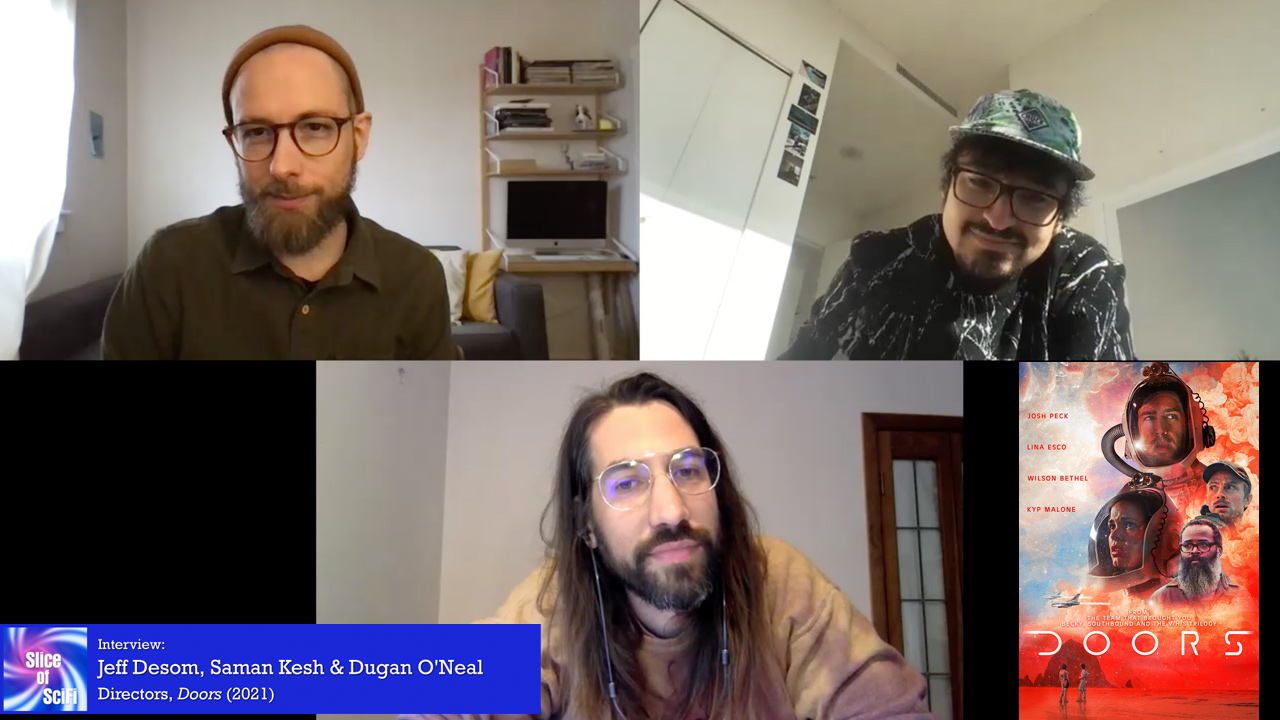 """""""Doors"""": A scifi anthology exploring perception and change Directors Saman Kesh, Jeff Desom and Dugan O'Neal talk about their approaches"""