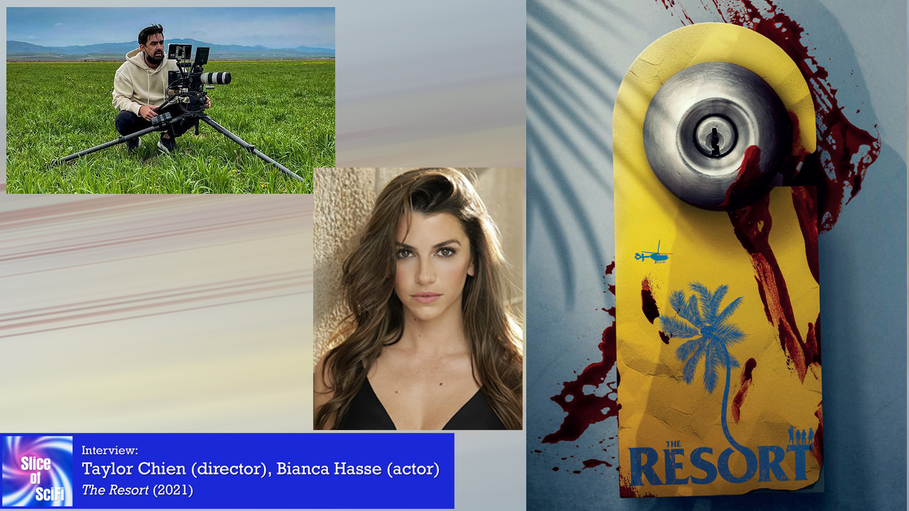 """Indie Horror: """"The Resort"""" Taylor Chien and Bianca Hasse talk working in unusual locales and more"""