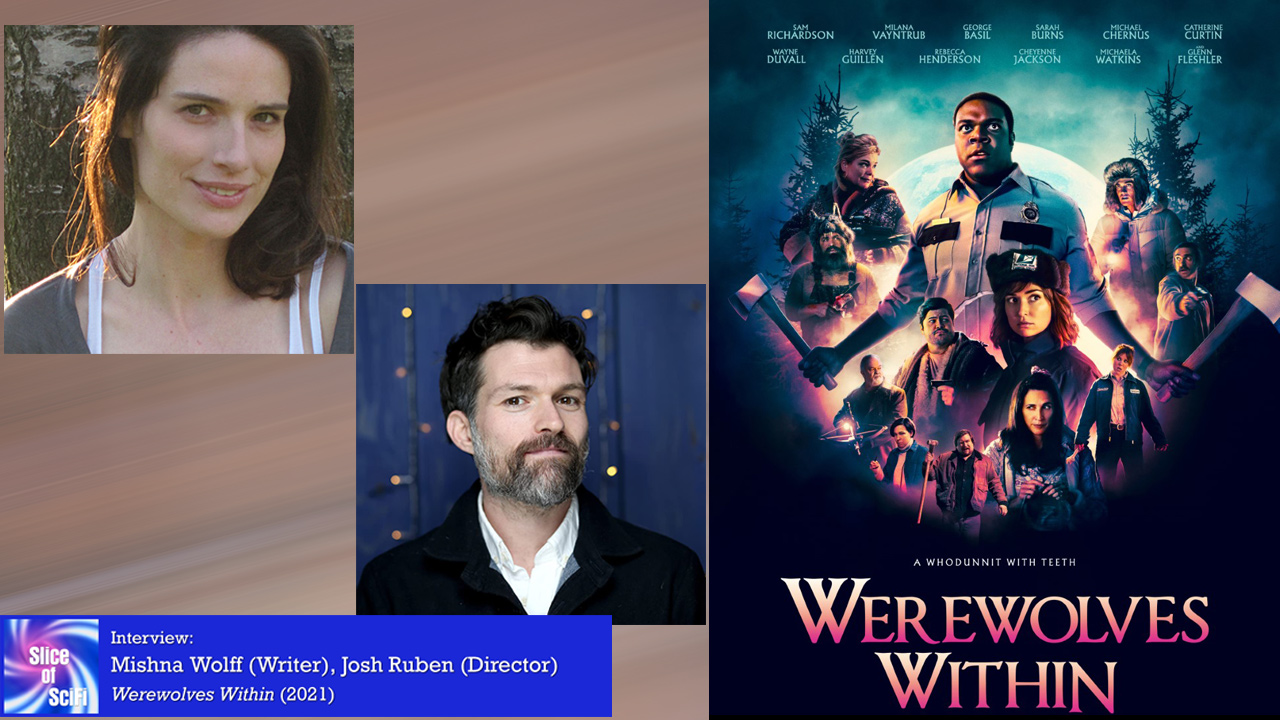 """Indie Horror: """"Werewolves Within"""" Writer Mishna Wolff and Director Josh Ruben talk comedy and horror"""