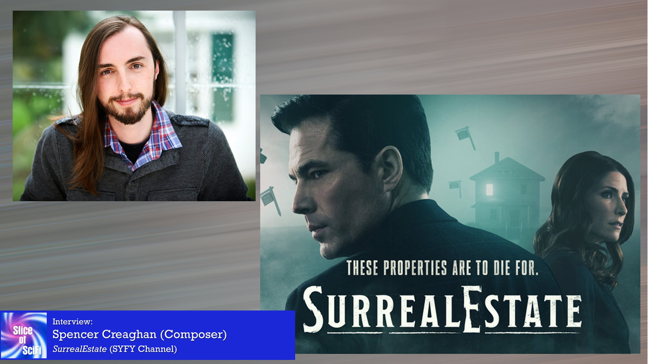 """""""Surreal Estate"""" Composer Spencer Creaghan Making music to pull viewers through the mysteries"""