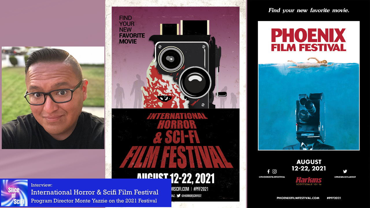 International Horror & Sci-Fi Film Festival 2021 Festival Director Monte Yazzie talks about what's on deck for this year