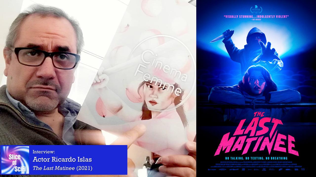 "International Indie Horror: ""The Last Matinee"" Actor / Writer Ricardo Islas talks about making monsters on screen"