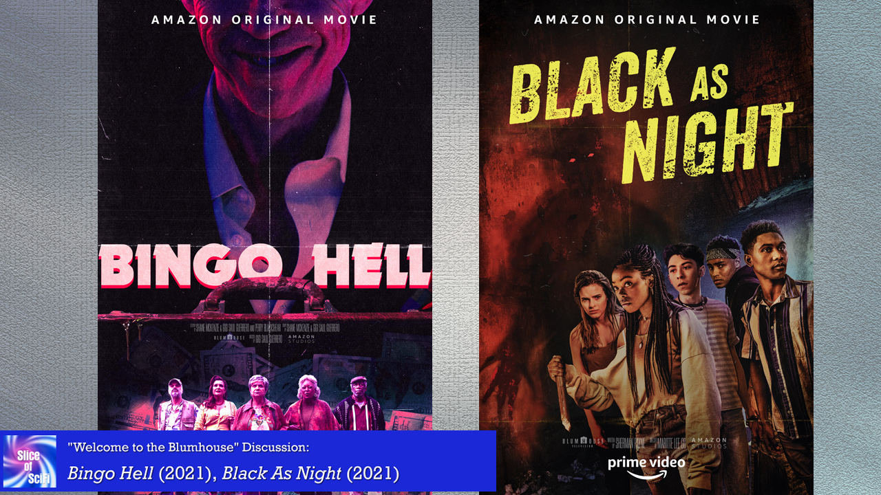 """Welcome to the Blumhouse: Week 1 Table Talk Guest Monte Yazzie is here to chat about """"Bingo Hell"""" and """"Black as Night"""""""