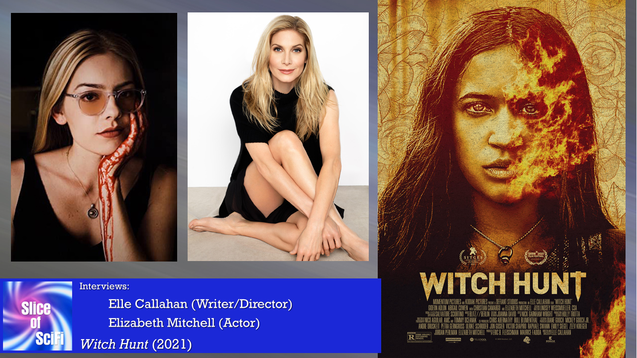 """""""Witch Hunt"""": Elle Callahan and Elizabeth Mitchell Examining a world where women wield illegal magic, and the campaign to punish & control them"""